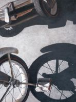 Bike Painting by pamplemouuse
