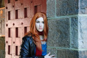 Amy Pond Costume by moonflower-lights