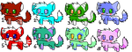 Super Cute kittys MUST GO by Zoesadopts4u