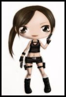 Chibi Lara Croft by kicky