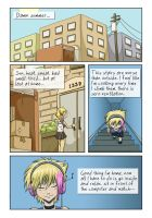 Little comic: Moving in-01 by Tamura