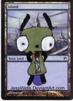 Altered Magic Card Gir by JessWells