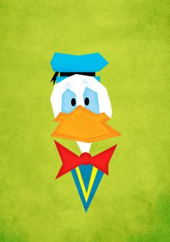 Quack quack said Donald Duck by GeloYellow