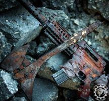 Prop Weapions for Master Oxide by Mjrosephoto