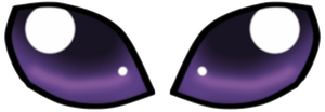 Espeon Eyes by kiashone