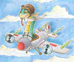 SNAKESONAMUTHAFUXOREDPLANE by dani-kitty