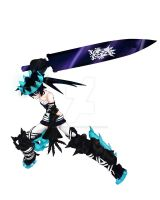 Black Rock Shooter Beast by Brizeydablackpanther