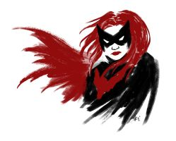 Bat in Scarlet by Mosrael-the-Waker