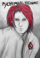 Gerard Way by honeycat007