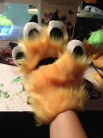 FLUFFEH PAWS FRONT by toxicfox100