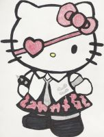 Punk Kitty by gerardway1408