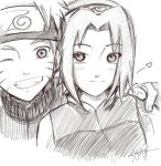 NaruSaku: Quiet Gestures by Liamony