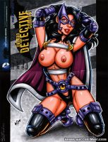 Naughty Huntress vertical sketch cover by gb2k