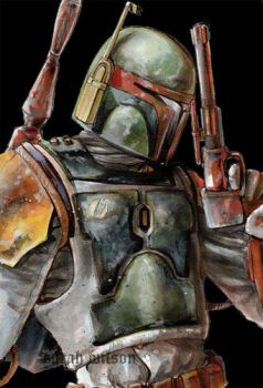 Boba Fett is the man by blotchy-the-squid