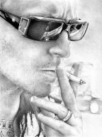 Chester Bennington by ingus91