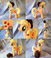 Applejack, a closer look by Yunalicia