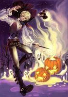 Harry_Draco: Halloween Hunter by kappauka