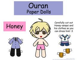 Honey Paper Doll by Malindachan
