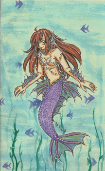 mermaid by bloody-axe-abyss