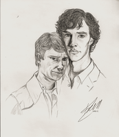 Johnlock by ivy11