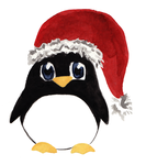 Merry Christmas from Tux by Mademoiselle-Falki
