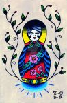 Russian Doll by Vicki-Death