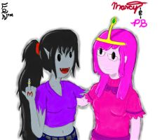 Marcy And PB by FernSylHouette