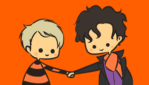 Halloween Sherlock and John by Rin8