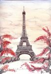 Eiffel Tower by ArtSpansTime