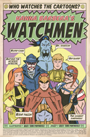 HANNA BARBERA'S WATCHMEN by paintmarvels