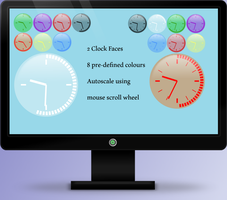 Neon Clock 1.3 by OsricWuscfrea