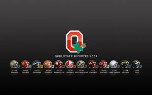 Ohio State Schedule Wallpaper by peacekid