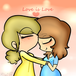 All you need is love. by iGingie