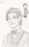 Day 2 - Celebrity Matt Smith as The Doctor by lava1o
