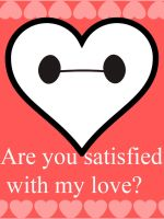 Baymax V Day Card by sonicxjones