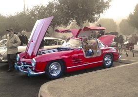 Classic sl Mercedes Gullwing by mburleigh8