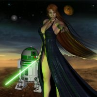 Jedi Babe 01 by Thestarkiller
