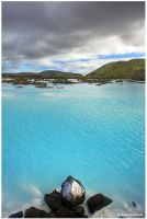 blue lagoon by Dave-Derbis