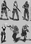 Sketch 13 Survivors by Qsec