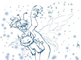 evil fairy and nibbler by NastyaZ
