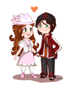 AT: Trainer Couple by TeLinkfan1