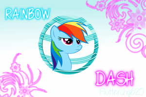 Rainbow Dash Wallpaper by Fluttershy625