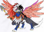 Grand C. Lupe Taur 4 - Colored by dragonheart07
