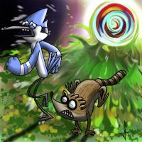 NOT a Regular Show by MisterCoqui