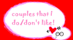 Couples that I do/don't like! TLK-only Version by BrainyxBat