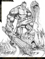 Splatterhouse - WIP 04 by RobDuenas