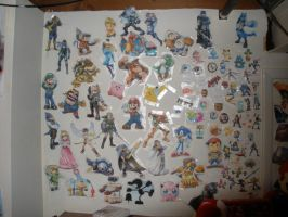 Brawl Wall 1 by ianyoshi