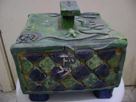 clay box 3 of 5 -left side- by Jubilation