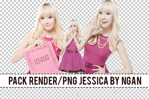 [Render/PNG] Pack Render Jessica Girl's Generation by Ngan-Ng2