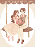 APH   AusHun - The lovers day by KsiezniczkaOlya